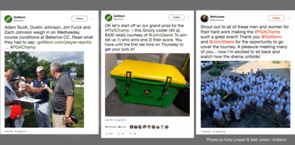 Exemples de Tweets