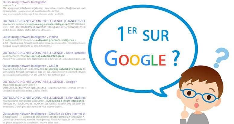 Comment positionner une page dans Google ?